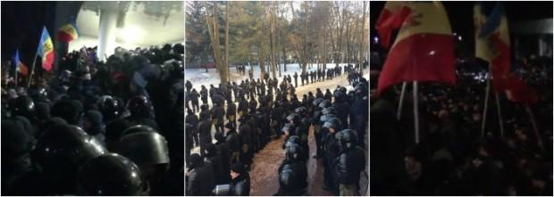 chisinau - proteste 2016