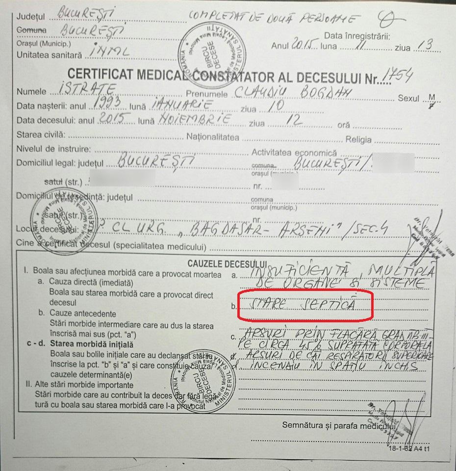 3. certificat deces
